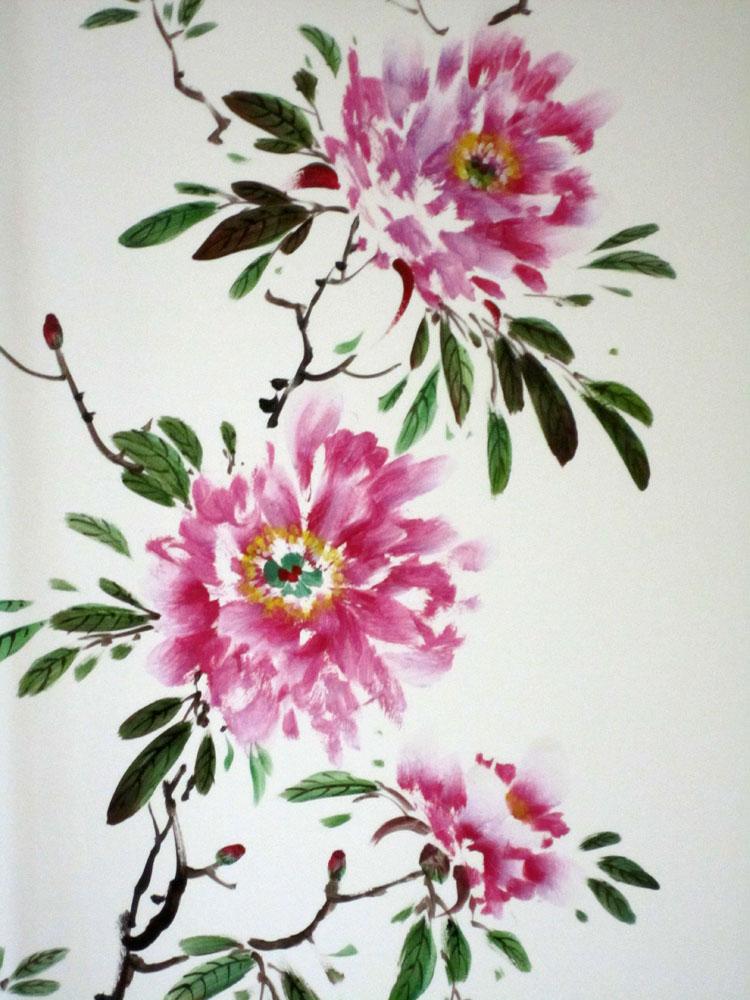 Дизайн интерьера цветы